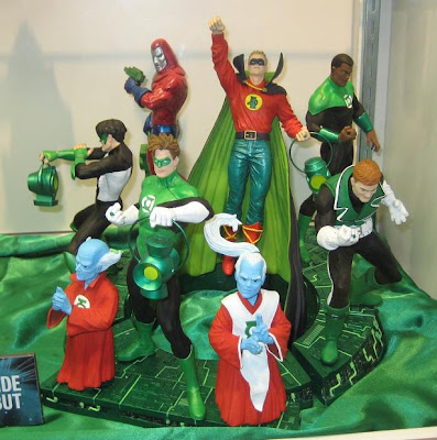 DC Direct - Green Lantern Family Multi-Part Statue
