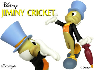 MINDstyle x Disney Jiminy Cricket Vinyl Figure
