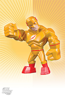 DC Direct Uni-Formz Vinyl Figures - Zoom Colorway