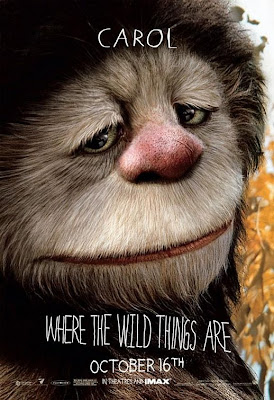 Where The Wild Things Are Promo Character Movie Posters - James Gandolfini as Carol