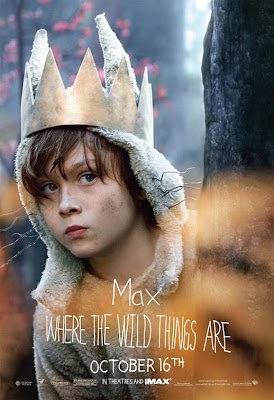 Where The Wild Things Are Promo Character Movie Posters - Max Records as Max