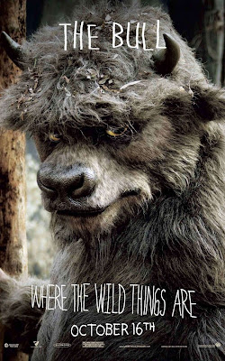 Where The Wild Things Are Promo Character Movie Posters - Michael Berry Jr. as The Bull