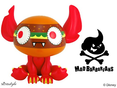 Disney x MINDstyle Stitch Experiment 626 Artist Series 2 - Mad Barbarians Stitch