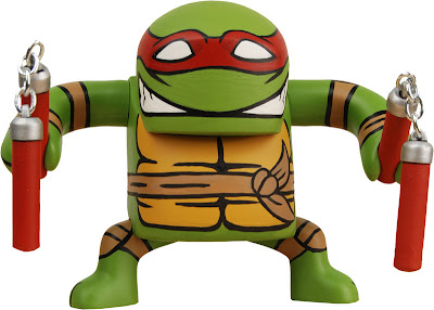 Michaelangelo Teenage Mutant Ninja Turtle BATSU Vinyl Figure by NECA