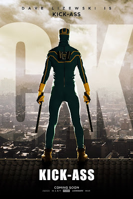 Kick-Ass One Sheet Character Movie Posters - Aaron Johnson as Kick-Ass