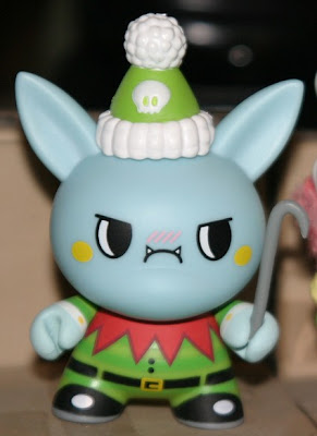 Kidrobot - T.W.O.C. the Elf 2009 3 Inch Holiday Dunny Chase by TADO
