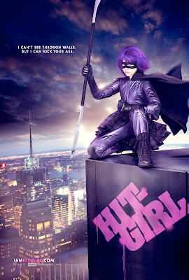 Kick-Ass Character One Sheet Movie Posters Set 2 - I Can't See Through Walls, But I Can Kick Your Ass - Chloe Moretz as Hit-Girl