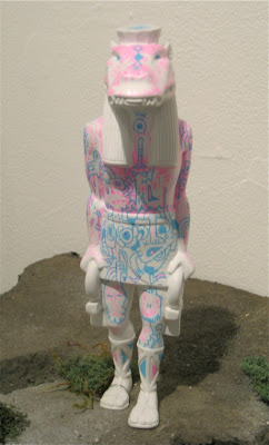 Lost Underground Art Project at Gallery 1988 - Custom Taweret Resin Statue by Jon Burgerman