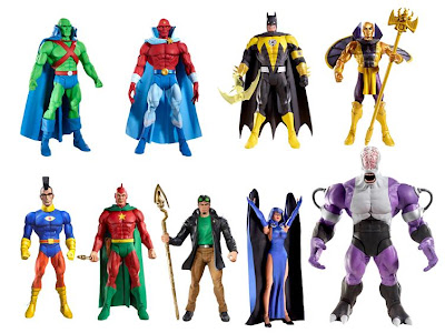 DC Universe Classics Series 15 Action Figures - Martian Manhunter, Jemm, Sinestro Corps Batman, Golden Pharaoh, OMAC, Classic Starman Ted Knight, Moder Starman Jack Knight, Raven and Build-A-Figure Validus
