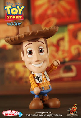 Toy Story 6 Inch CosBaby Vinyl Figures by Hot Toys - Woody
