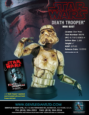 Star Wars Death Trooper Stormtrooper Mini Bust by Gentle Giant