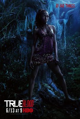 True Blood Season 3 Character Television Posters - Rutina Wesley as Tara Thornton