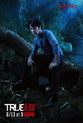 True Blood Season 3 Character Television Posters - Stephen Moyer as Bill Compton