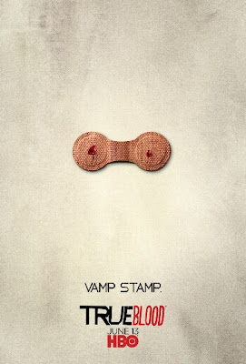 True Blood Season 3 One Sheet Television Teaser Poster - Vamp Stamp