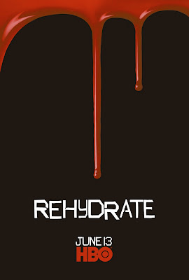 True Blood Season 3 One Sheet Television Teaser Poster - Rehydrate