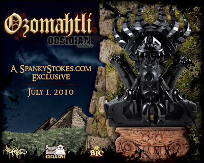 SpankyStokes.com Exclusive Obsidian Edition Ozomahtli by Jesse Hernandez