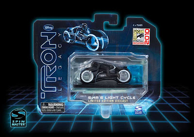 San Diego Comic-Con 2010 Exclusive TRON Legacy Die-Cast Sam's Light Cycle by Spin Master