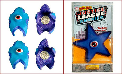 Justice League of America presents Starro the Conqueror Set in Packaging & the San Diego Comic-Con 2010 Exclusive Starro Spores Bonus Pack