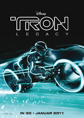 TRON Legacy Internationl One Sheet Movie Poster