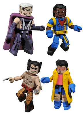 San Diego Comic-Con 2010 Exclusive '90s Era X-Men Minimates Box Set from Diamond Comics