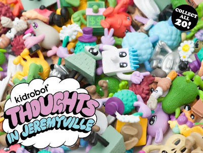 Kidrobot - Thoughts in Jeremyville Super-Mini Series by Jeremyville