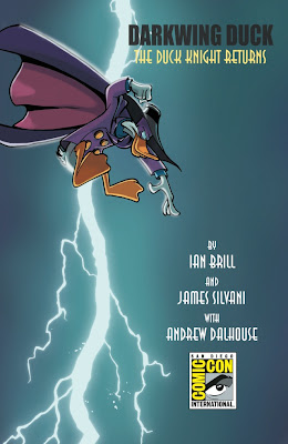San Diego Comic-Con 2010 Exclusive Darkwing Duck #1 Variant Cover by Boom! Studios