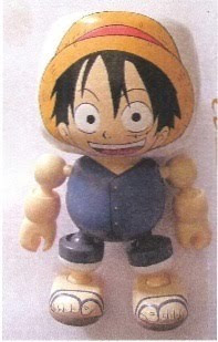 San Diego Comic-Con Exclusive 2010 One Piece Monkey D. Luffy Mallow Vinyl Figure by FUNimation