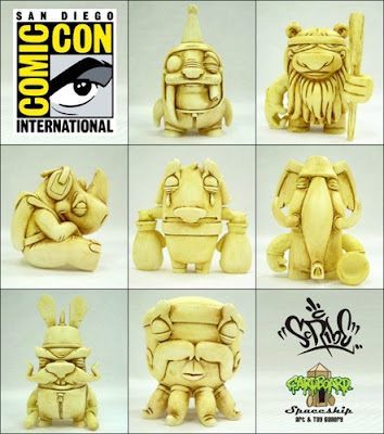 San Diego Comic-Con 2010 Exclusive Spice Trade Edition The Resound Field Guide Mini Figure Series by Scribe