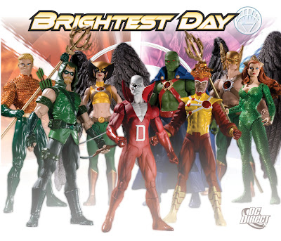 Brightest Day Action Figures Wave 1 & Wave 2 by DC Direct