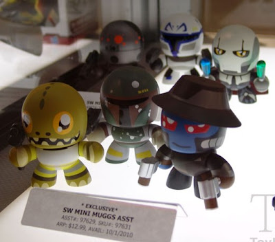 FIRST LOOK: Star Wars Mini Mighty Muggs - Bossk, Boba Fett, Cad Bane, IG-88, Captain Rex & General Grievous Vinyl Figures