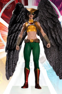 Brightest Day Series 1 Action Figures by DC Direct - Hawkgirl