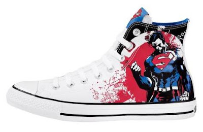 DC Comics x Converse All Star Hi Superman Sneakers