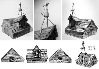 Gallery1988 x Daniel Danger Art Toy In Progress Prototype Shots