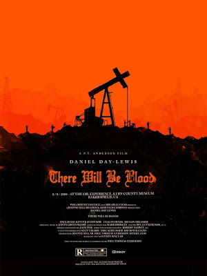 2010 Rolling Roadshow Screen Print Series - There Will be Blood by Olly Moss