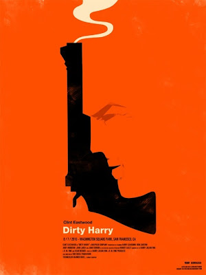2010 Rolling Roadshow Screen Print Series - Dirty Harry by Olly Moss