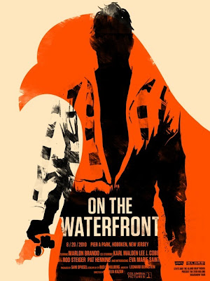 2010 Rolling Roadshow Screen Print Series - On The Waterfront by Olly Moss