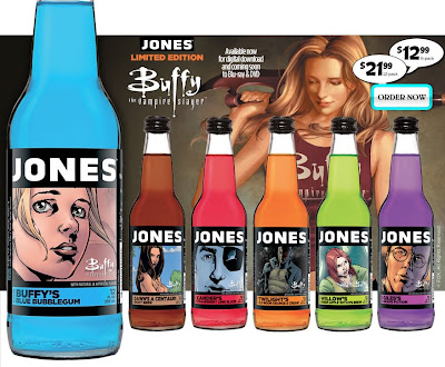 Limited Edition Buffy the Vampire Slayer Spellcasting Sodas by Jones Soda