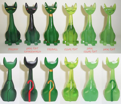 PlasticandPlush Exclusive Jade Tuttz Wave 2 Resin Figures by Argonaut Resins