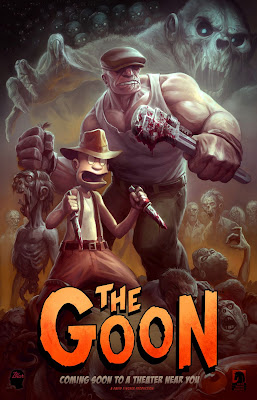 The Goon Animated Motion Picture Teaser Movie Poster