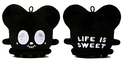 Giant Robot Exclusive 5 Inch Black Life Is Sweet Buff Monster Plush Figure