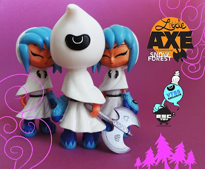 VTSS Exclusive Little Axe Snow Forest 6 Inch Resin Figure by Erick Scarecrow