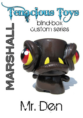 Tenacious Toys Marshall Blind Box Custom Series - Oil Monger Marshall by Den Ramos