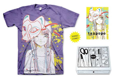 LTD Tee - Tanpopo T-Shirt, Comic Book & Print Box Set by Camilla d'Errico