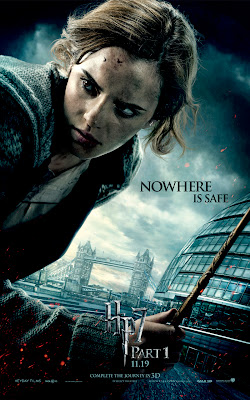 Harry Potter and the Deathly Hallows Part I Character Movie Posters - Nowhere Is Safe - Emma Watson as Hermione Granger
