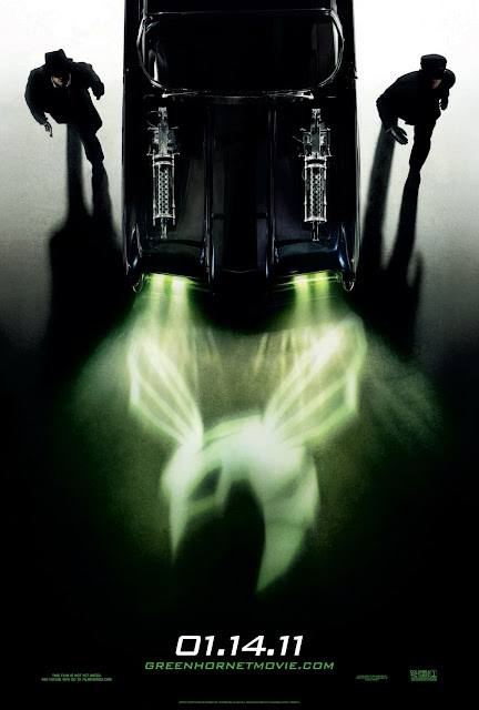 The Green Hornet One Sheet Teaser Movie Poster