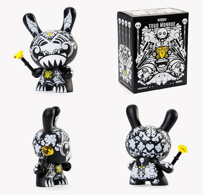 Kidrobot - Togo Monroe 8 Inch Dunny by ILOVEDUST and Packaging