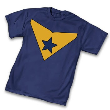 "DC Comics x Graphitti Designs Booster Gold T-Shirts - ""Booster Gold Symbol"" T-Shirt"