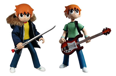 Scott Pilgrim vs. The World 6 Inch Scott Pilgrim Action Figures by Mezco Toyz