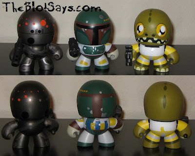 Star Wars Mini Mighty Muggs - IG-88, Boba Fett &amp; Bossk