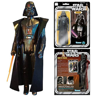 "Darth Vader 12"" Jumbo Vintage Kenner Star Wars Action Figure by Gentle Giant"